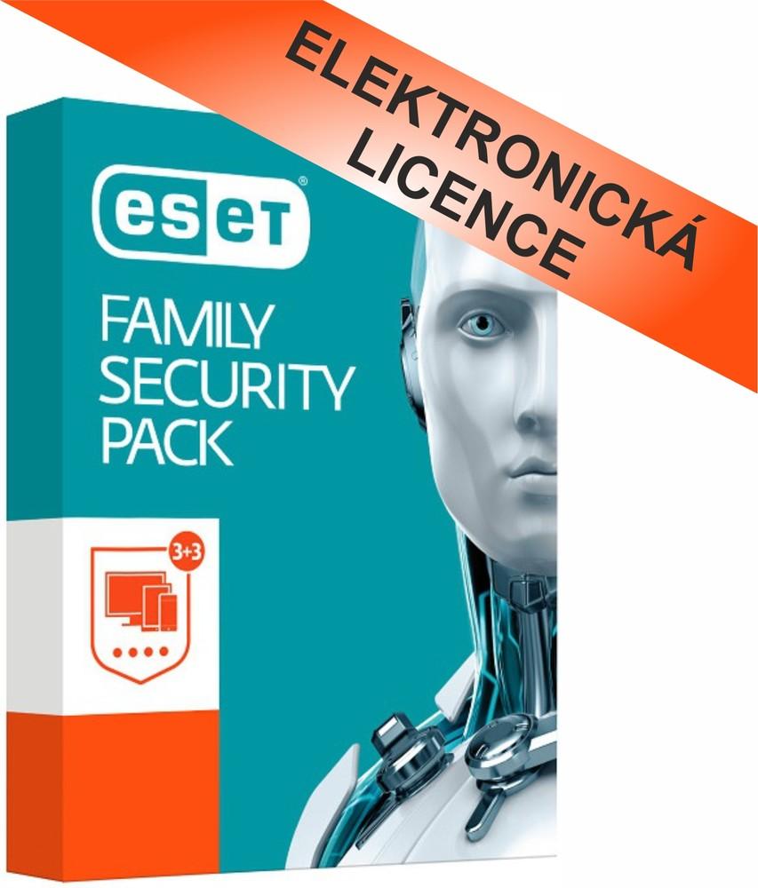 ESET Family Security Pack, EFSP003N1
