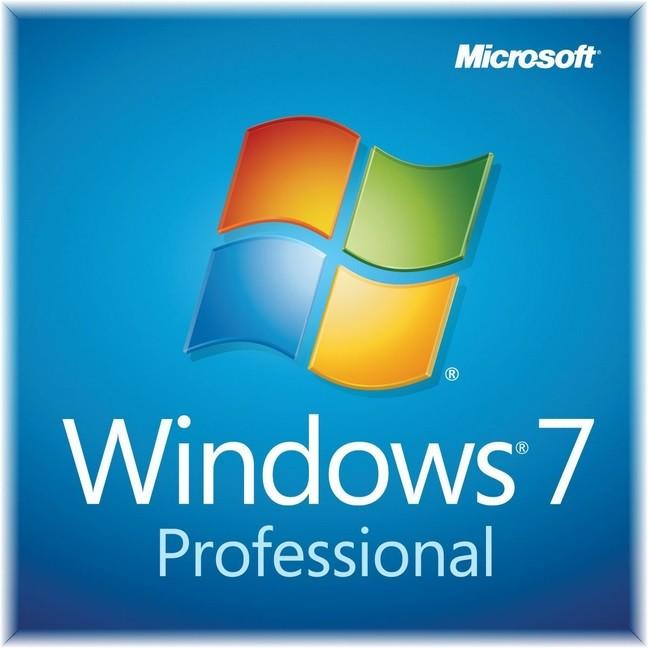 Microsoft Windows 7 Professional, 64-bit, CZ, FQC-08688