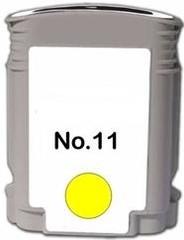 Kompatibilní inkoust s HP C4838A (HP11) žlutý