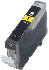 Kompatibilní inkoust s Canon CLI-8Y žlutý