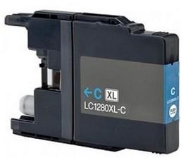 Kompatibilní inkoust s Brother LC-1220/1240/1280C azurový