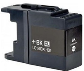 Kompatibilní inkoust s Brother LC-1220/1240/1280BK černý