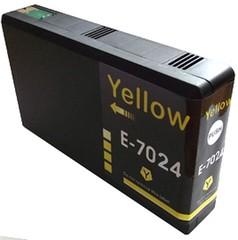 Kompatibilní inkoust s Epson T7024 žlutý