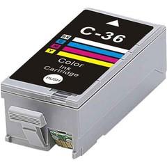 Kompatibilní inkoust s Canon CLI-36C barevný