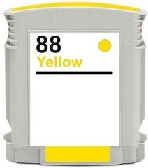 Kompatibilní inkoust s HP C9393AE (HP88XL) žlutý