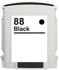 Kompatibilní inkoust s HP C9396AE (HP88XL) černý