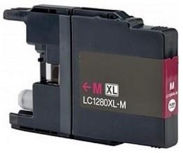 Kompatibilní inkoust s Brother LC-1220/1240/1280M purpurový