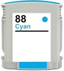 Kompatibilní inkoust s HP C9391AE (HP88XL) modrý