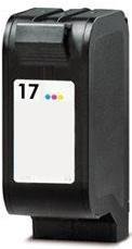Kompatibilní inkoust s HP C6625AE (HP17) barevný
