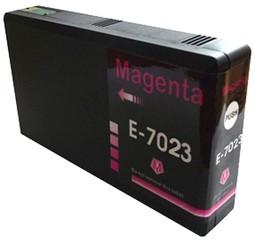 Kompatibilní inkoust s Epson T7023 červený