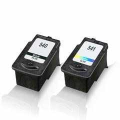 Kompatibilní inkousty s Canon PG-540XL + CL-541XL (5222B013), černý 17 ml + barevný 15 ml