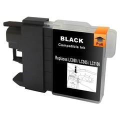 Kompatibilní inkoust s Brother LC1100BK/LC980BK černý