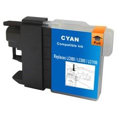 Kompatibilní inkoust s Brother LC1100C/LC980C modrý