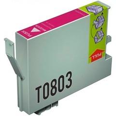 Kompatibilní inkoust s Epson T0803 červený