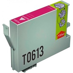 Kompatibilní inkoust s Epson T0613 červený