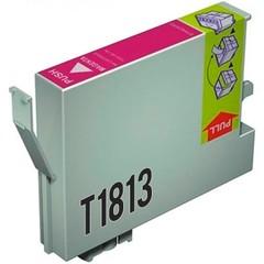 Kompatibilní inkoust s Epson T1813 XL červený