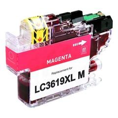 Kompatibilní inkoust s Brother LC-3619XLM, purpurový