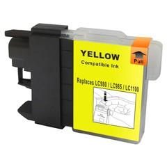 Kompatibilní inkoust s Brother LC1100Y/LC980Y žlutý
