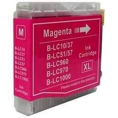 Kompatibilní inkoust s Brother LC1000M/LC970M červený