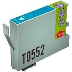 Kompatibilní inkoust s Epson T0552 modrý