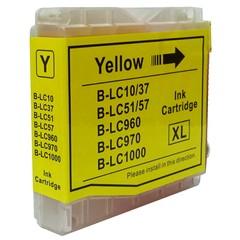 Kompatibilní inkoust s Brother LC1000Y/LC970Y žlutý