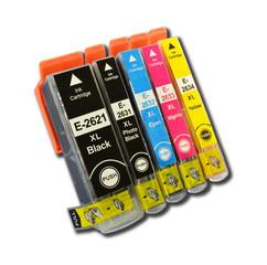 Kompatibilní inkousty s Epson T2621, T2631, T2632, T2633 a T2634 (26XL)