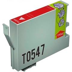 Kompatibilní inkoust s Epson T0547 červený