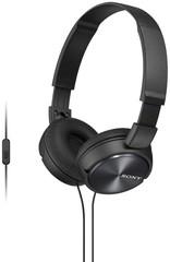 Sony MDR-ZX310AP, černá sluchátka