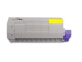 Kompatibilní toner s OKI 46490605, žlutý