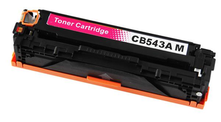Kompatibilní toner s HP CB543A (125A) červený