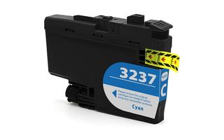 Kompatibilní inkoust s Brother LC-3237 azurový