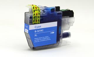 Kompatibilní inkoust s Brother LC-3217C/LC-3219CXL azurový