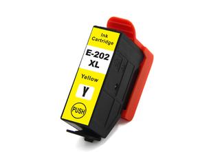 Kompatibilní inkoust s Epson T02H44010 (202XL) žlutý