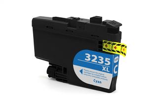 Kompatibilní inkoust s Brother LC-3235XL azurový