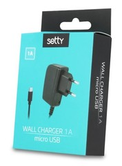 Micro USB cestovní nabíječka SETTY 1A