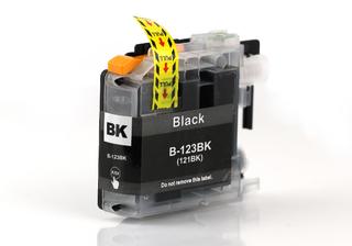 Kompatibilní inkoust s Brother LC-123 černý