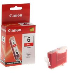 Originální inkoust Canon BCI-6R (8891A002), červený