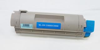 Kompatibilní toner s OKI 43324423 modrý