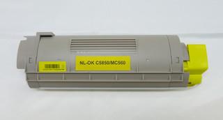 Kompatibilní toner s OKI 43865721 žlutý