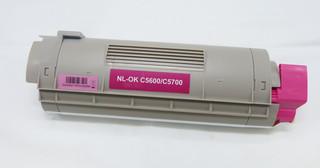 Kompatibilní toner s OKI 43381906 červený