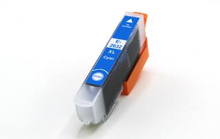 Kompatibilní inkoust s Epson T2632 (26XL) modrý