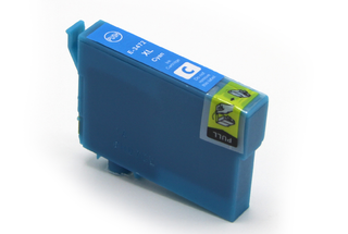 Kompatibilní inkoust s Epson T3472, C13T34724010 azurový