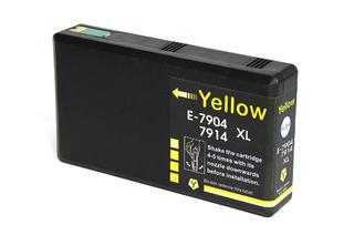 Kompatibilní inkoust s Epson T7904 (79XL) žlutý