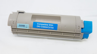 Kompatibilní toner s OKI 43381907 modrý