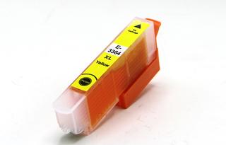 Kompatibilní inkoust s Epson T3364, 33XL žlutý