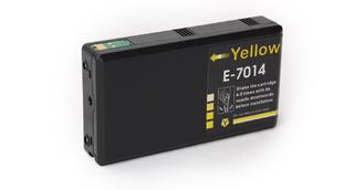 Kompatibilní inkoust s Epson T7014 žlutý