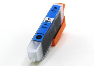 Kompatibilní inkoust s Epson T3362, 33XL modrý