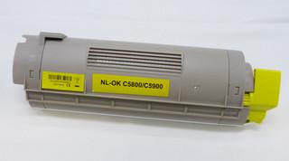 Kompatibilní toner s OKI 43324421 žlutý