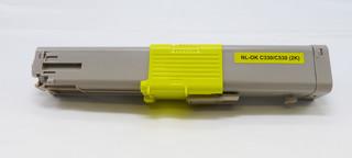 Kompatibilní toner s OKI 44469704 žlutý