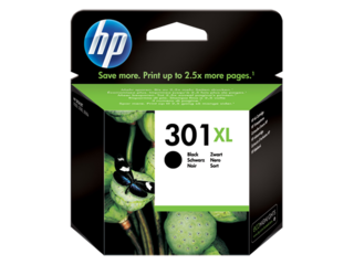 Originální inkoust HP CH563EE (HP301XL) černý